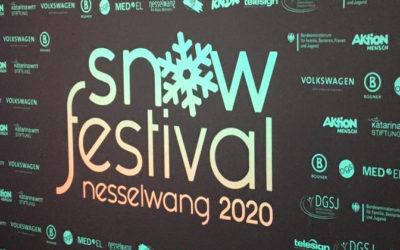 Snowfestival Nesselwang 2020 des Landesverbandes für Gehörlose